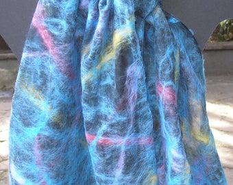 merino and silk scarves