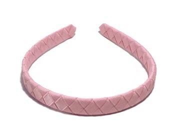Pink Headband // Woven Headband // Girls Headband // Toddler Headband // Teen Headband