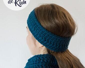 Headband and infinity scarf