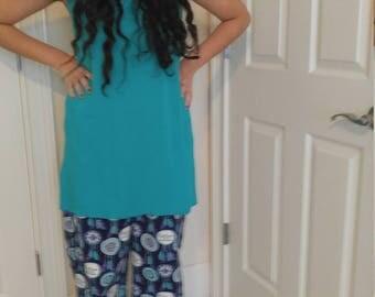 Flannel pajamas pants