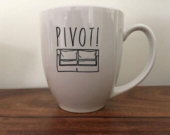 PIVOT! Breakfast Mug