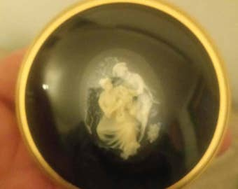 Small Domed Framed Cameo.