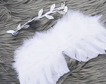 Baby Angel Wings with Headband