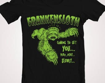 FRANKENSLOTH ! Ladies T-Shirt