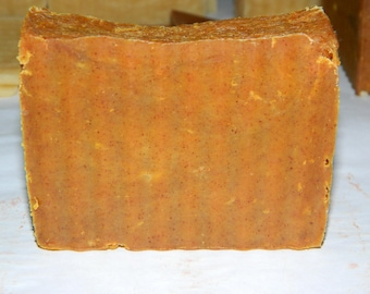 Turmeric Soap. Hot Process, Small Batch, #smellitontheside #face
