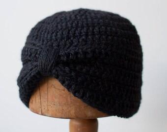 ALLEGRA TURBAN | modern chunky crochet beanie
