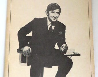 "Playbill ""An Evening with Dave Allen"", 1981, The Booth Theatre, Broadway Program, Collectible Playbill"
