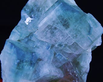 Panasqueira mineral - Turquoise blue Apatite