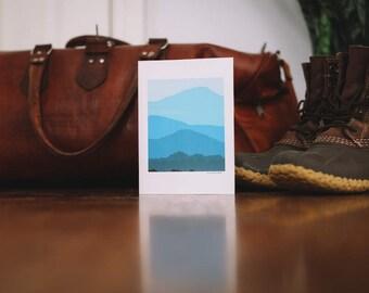 Blue Ridge Mountain Note Card