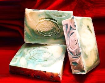 Swirly Patchouli Vegan Handcrafted Soap