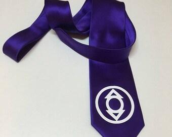 Indigo Lantern Necktie