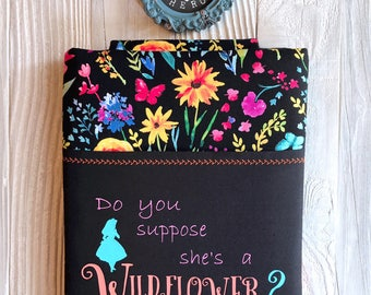 WILDFLOWER ALICE book sleeve