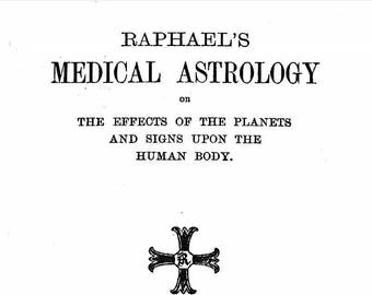 Medical Astrology Book Download - Occult Book PDF Ebook