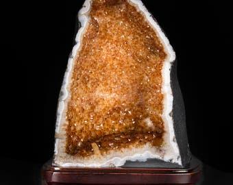 Citrine Geode 5kg, Home Decoration, Big Critrine Geode …