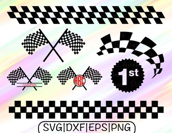 Race Track Wall Art >> Racing Flags SVG Champion Flag SVG Racing Flag Cut File