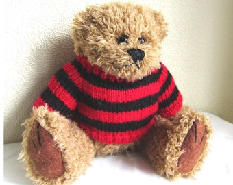 Bear in Dennis the Menace style jumper