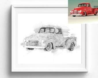 Pencil sketch, custom sketch, fashion sketch, sketch from photo, custom house sketch, personalized sketch, sketch drawing, sketch art