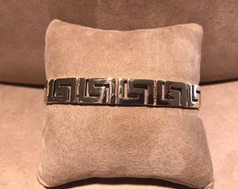 14 Kt. Yellow gold Greek Key Bracelet