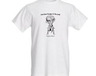 Cast Your Burdens T-shirt