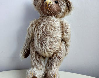 Wobley' The Collectible Mohair Teddy Bear. Beautiful and Full Joined.
