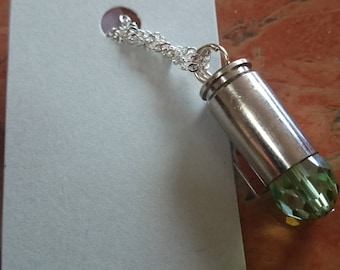 Handcrafted Re-purposed Shell Casing Pendant.