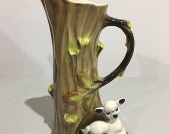 Hornsea Mischief Lamb Vase 584