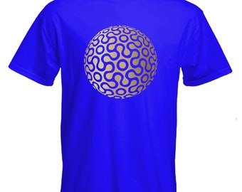 Mandala tshirt-sacred geometry-orb pattern-yoga tshirt-festival Tshirt-beachwear-slogan Tee-statement tshirt-mens short sleeved Tee-