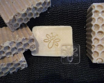 "SOAP ""Bee #1"" stamp (stamp, print)"
