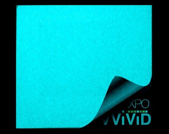 VViViD Glow In The Dark Blue Decal