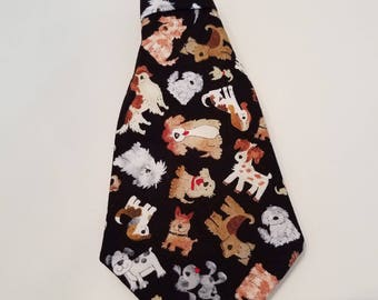 Doggy Day Care Dog Tie