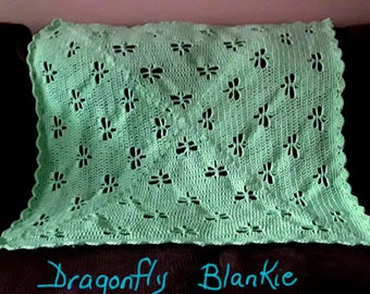 Dragonfly Baby Blanket