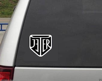 Derek Jeter decal - Unique Classy Jeter Logo Re2pect Yankees Captain