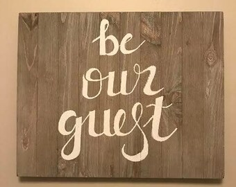 Handmade customizable wooden signs