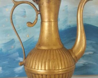 Very cute copper teapot