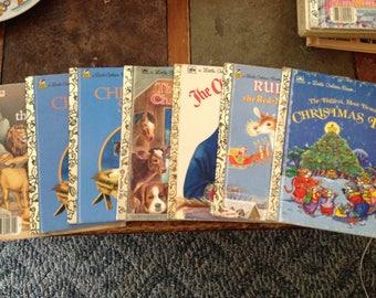Christmas little golden books