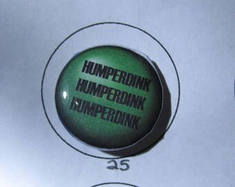 "1 Inch The Princess Bride Inspired ""Humperdink, Humperdink, Humperdink"""