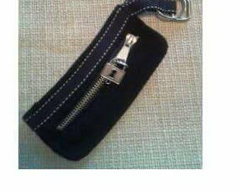Wool Wristlet Keychain