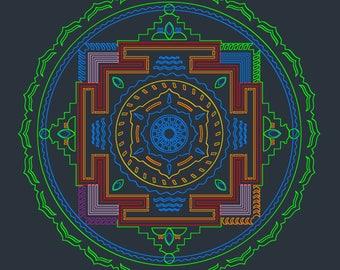 Tibetan Dreamtime - Print