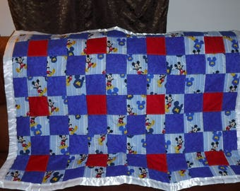 Mickey Mouse Baby/toddler blanket