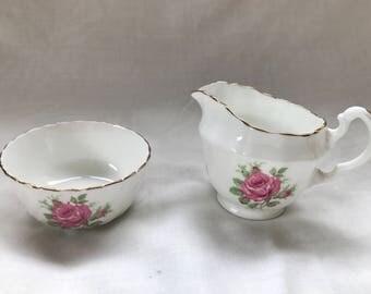 Adderly Sugar Bowl and Creamer Set
