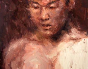 Abstract Study: Self Portrait 2