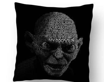 "18"" Linen Cushion - Gollum"