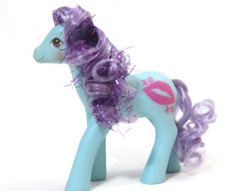 Ruby Lips - G1 US SHS Sweet Kisses Pony MLP Original Vintage 80s