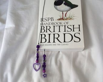 Elegant beaded bookmarker