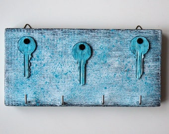 Key holder for wall, Key holder wood, Key holder