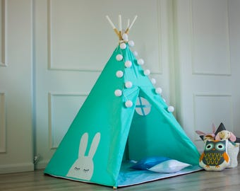 Childrens teepee, play tent, tipi, zelt, wigwam, kids teepee, tent, play teepee, high quality wigwam