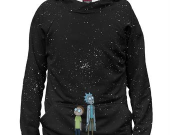 Rick And Morty Men's Women's Hoodie