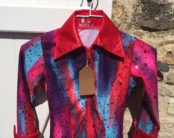 Kids western showmanship shirt