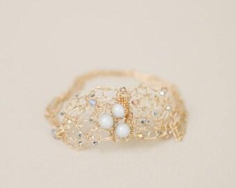 Artisan Made Dainty 14 carat Gold Filled Bracelet
