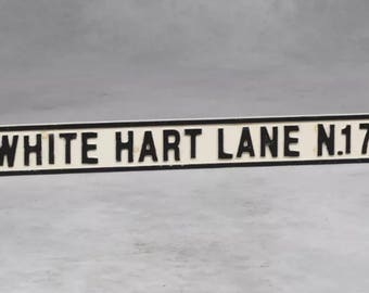 White Hart Lane road sign